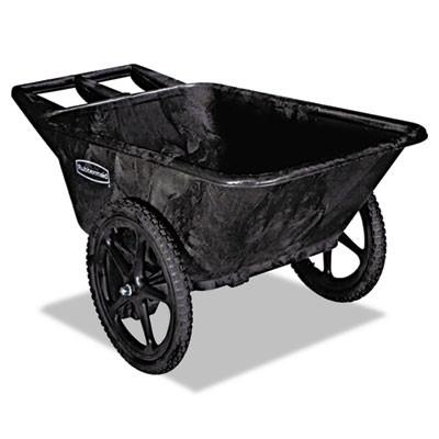 Rubbermaid 5642 Big Wheel Cart 7.5 CU FT, 300 lb Capacity