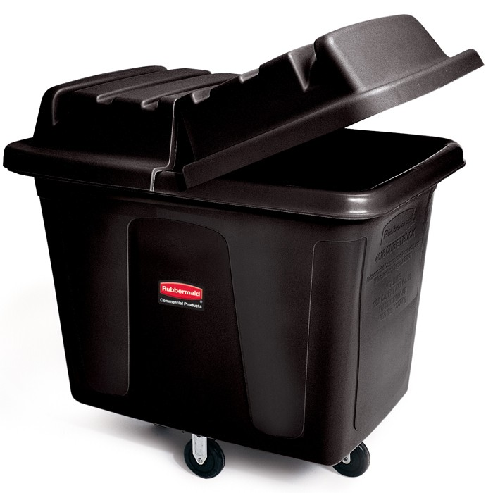 Rubbermaid 4608 Cube Trucks 8 CU FT 300-lb Capacity