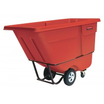 Rubbermaid 1305 Tilt Truck 1/2 CU YD 850 lbs - Red