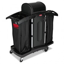 Rubbermaid 9T78 High-Security Housekeeping Cart