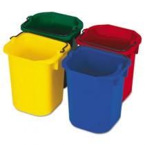 Rubbermaid 9T83 5-Quart Disinfecting Pails, 4 Colors