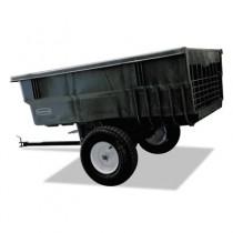 Rubbermaid 5663-61 Tractor Cart 15 CU FT - Black