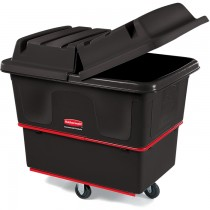 Rubbermaid 4712 Utility Truck 12 CU FT 800-lb Capcity - Black