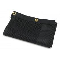 Rubbermaid 9T91-01 Housekeeping Cart-Fabric Mesh Linen Bag-Case of 6 - Black