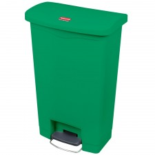 Rubbermaid 1883588 Slim Jim Step-On Container 24 gallon - Green